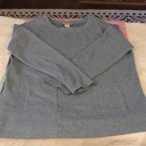 Light blue Loft sweater size L